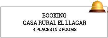 Booking online Casa Rural El Llagar